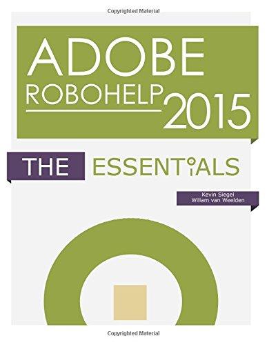 Adobe RoboHelp 2015: The Essentials