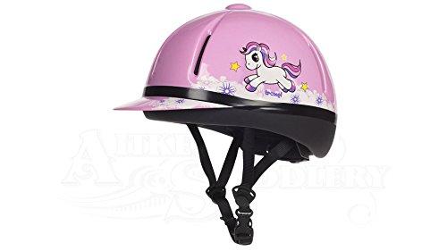 Troxel Legacy Unicorn Helmet, Pink, Small