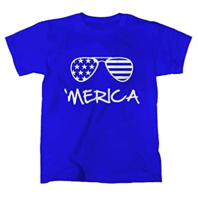 Cute Toddler and Youth 'Merica T-shirt