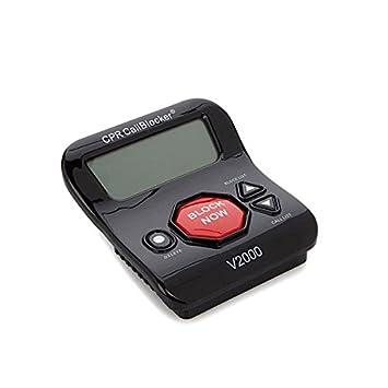 Bloqueador de Llamadas CPR V2000- bloquee Todas Las Llamadas molestas y de estafa con sólo un Clic: Amazon.es: Electrónica