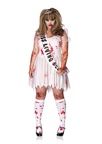 Leg Avenue Women's Plus Size Bloody Prom Queen Costume -