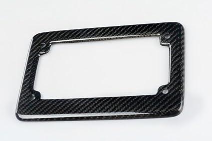 1PC ModifyStreet Brushed Black Aluminum Motorcycle License Plate Frame for Motorcycle//Bobber//Chopper//Curiser//Sport Bike//Touring//Trike