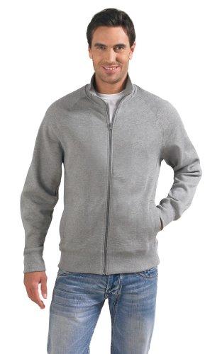 SOLS Men´s Zipped Jacket Sundae 47200, Größe:XL;Farbe:Red