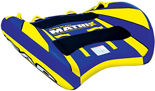 Airhead Matrix V2 Inflatable Double Rider Towable Tube | AHMX-V2