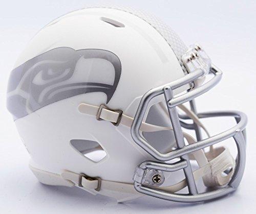 Seattle Seahawks Unsigned ICE Speed Mini Helmet Stock #109235 ()