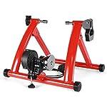 41JrVOKkOAL. SS150 Dvuboo Cyclette da Casa Spinning Bike Professionale per Casa Bici da Spinbike Cyclette Fitness Palestra Workout, Regolazione del Sellino & Manubrio, Ottimo per Un Allenamento di Tipo Casalingo,Rosso