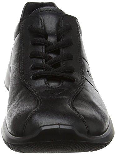 Negro negro Derby Mujer Cordones 5 Zapatos de Zapatos 5 Ecco para Soft 3f106d