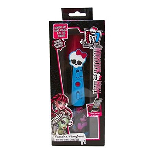 Monster High Karaoke Microphone for Phone/MP3 Connection