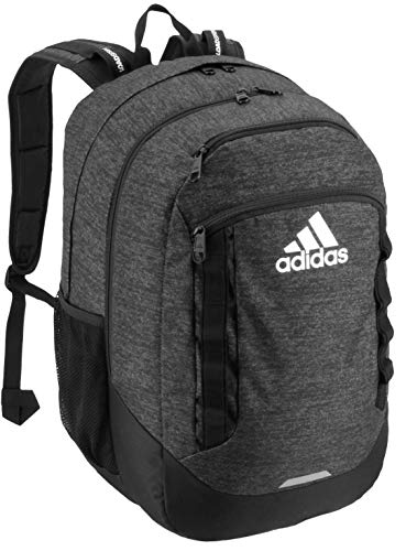 adidas Excel Backpack, Jersey Black, One Size (Spring Womens Adidas)