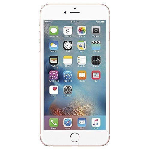 - Apple iPhone 6S Plus, GSM Unlocked, 128GB - Rose Gold (Renewed)