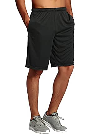 CYZ Men's Performance Jersey Short-Black-M