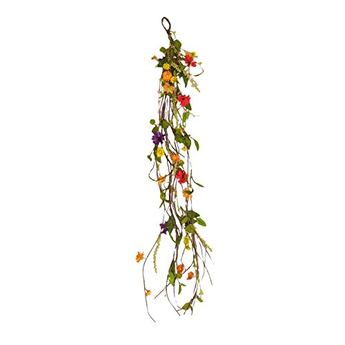 Your Heart's Delight Daisy Assortment Twig Garland, 52-Inch -