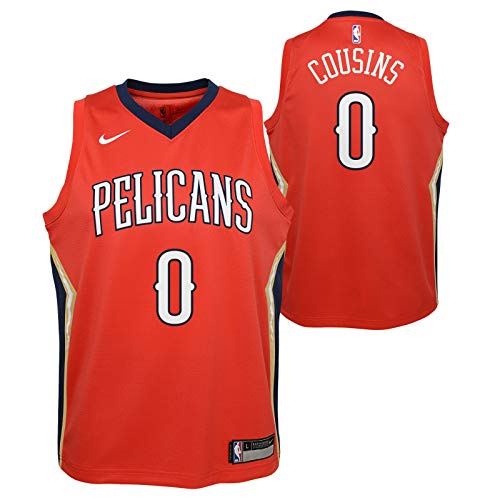 Outerstuff Demarcus Cousins New Orleans Pelicans NBA Nike Youth Red Statement Swingman Jersey – DiZiSports Store