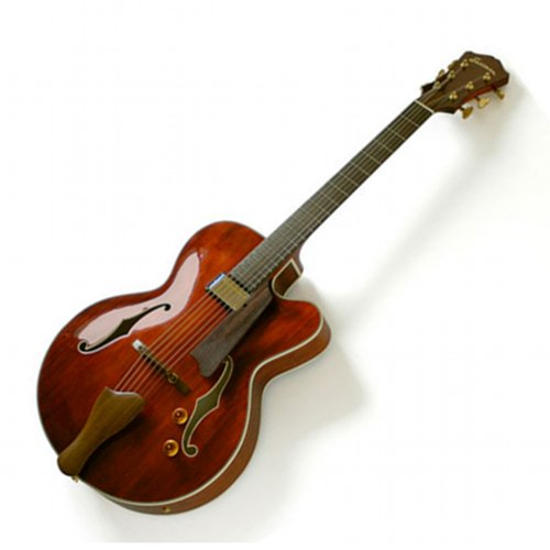 "Eastman AR503CE Single Cutaway 16"" Archtop Classic Finish Guitar w/ Case ()"