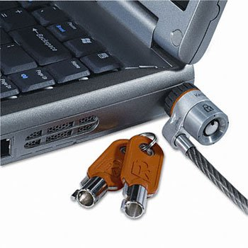 - Kensington Microsaver 64068 Notebook Lock - Steel - 6 Ft