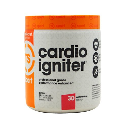 Top Secret Nutrition Cardio Igniter Pre-workout Supplement with Beta-alanine, L-Carnitine, and Red Beet Extract, 6.35 oz. (180g), (30 Servings) Watermelon ()