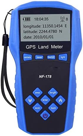 Cosye Noyafa NF-178 Portable Handheld Land Meter LCD Screen Display GPS Test Devices Land Measuring Instrument With Battery