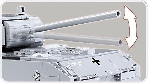 COBI World of Tanks Panzer VIII Maus Tank, Grey