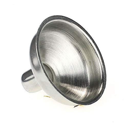Maikouhai Stainless Steel Funnel for Bottle Kitchen Home Mini Oil Water Vinegar Funnel for Household Liquid Dispensing Dispenser - Kitchen & Home Dispenser Tool - Silver