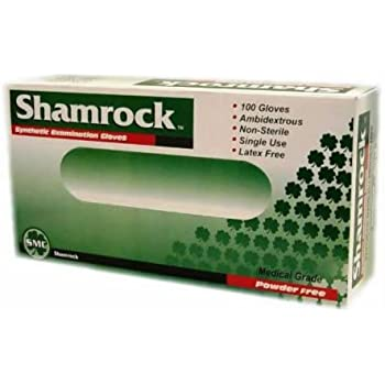 Amazon Com Shamrock 10112 Latex Powder Free Examination