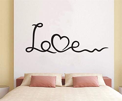 Wall Quotes Decal Wall Stickers Art Decor Vinilo Pared Decorativo Love Wall Stickers Love Words Quotes Bedroom Decor Wall Sticker Sweet Home Decoration -