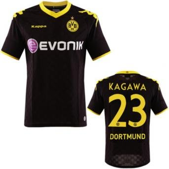 Maillot Extérieur Borussia Dortmund Shinji Kagawa