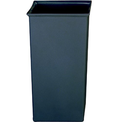 - Rubbermaid Commercial Ranger Trash Can Liner, 35 Gallon, Gray, FG356600GRAY