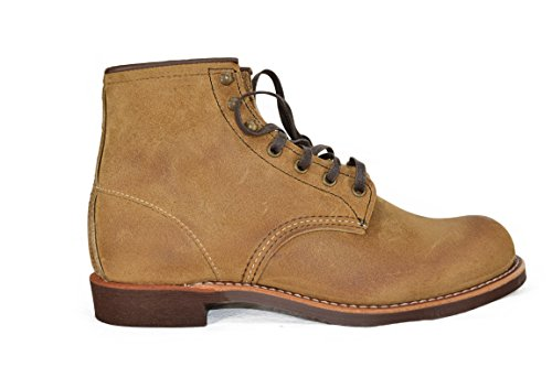 Red Wing BLACKSMITH Scarpa Uomo Boot Pelle grattata Colore Miele Miele
