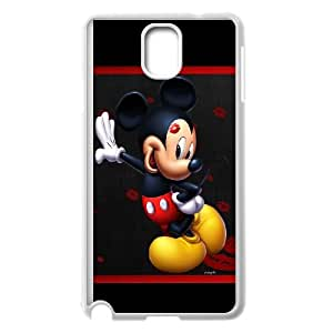 Samsung Galaxy Note 3 Cell Phone Case White Micky-Mouse Phone Case Cover Protective Hard CZOIEQWMXN12675