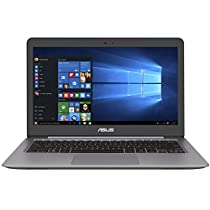 "Asus ZenBook UX310UA-FC856T Notebook, LCD 13.3"" FHD, Intel Core I3 7100 U, RAM 4 GB, HDD 500, Intel HD Graphics 620, Quartz Grigio [Layout Italiano]"