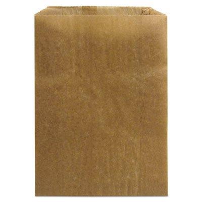(HOSPECO Napkin Receptacle Liner, Kraft Waxed Paper,)