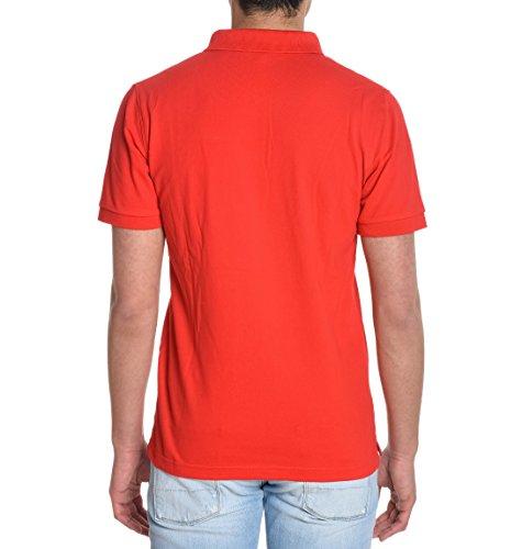 Sun 68 Herren 1711430 Rot Baumwolle Poloshirt