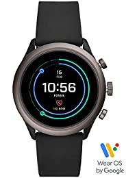 Men's Gen 4 Sport Metal and Silicone Touchscreen Smartwatch with Heart Rate, GPS, NFC, and Smartphone Notifications