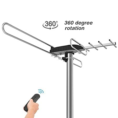 Review 1byone Rotating TV Antenna