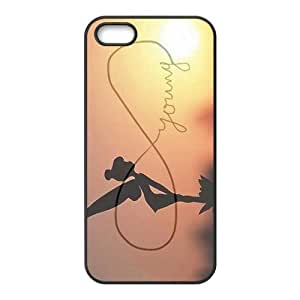 Beautiful Flower Child Lunlun Cell Phone Case for iPhone 5S