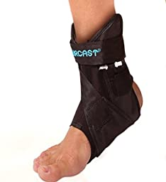 Aircast AirLift PTTD Ankle Support Brace, Right Foot, Large