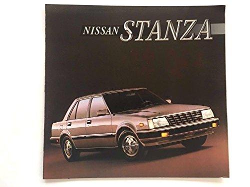 1986 Nissan Stanza and Wagon 12-page Original Car Sales Brochure Catalog