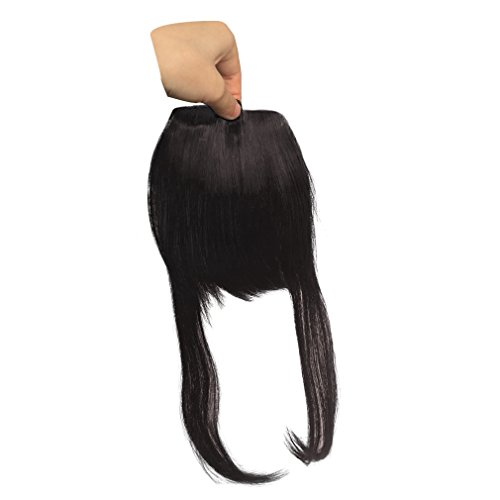 Synthetic Clip in Front Hair Bangs Fringe Extensions by Namecute (F6062-#4) by Namecute (Image #2)