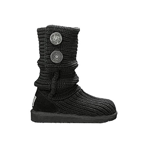 Ugg Australia Cardy Youth US 11 Black Winter (Cardy Fashion Boot)