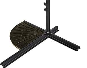 Resina paraguas peso Base para sombrilla–44libras–por marca innovaciones (acabado en bronce)