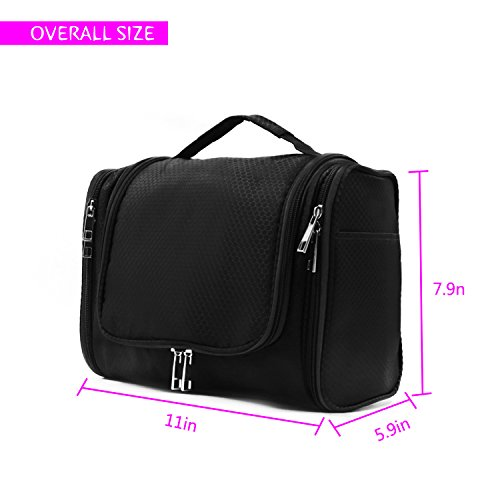 4ca091af5311 Extra Large Capacity Hanging Toiletry Bag for Men   Women