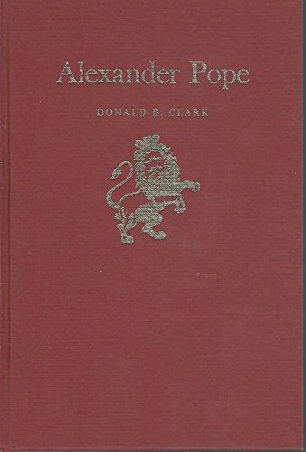 Alexander Pope (Twayne's English Authors Series)