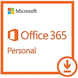 Microsoft Office 365 Personal   1-year subscription, 1 user, PC/Mac Download