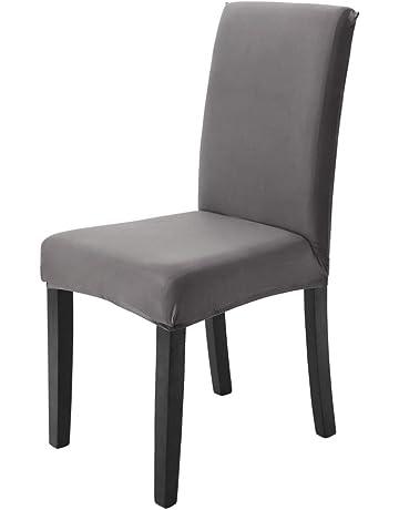 housses de chaise de salle manger cuisine maison amazonfr - Chaise Moderne Salle A Manger