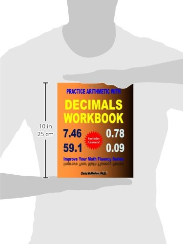 Practice Arithmetic with Decimals Workbook: Improve Your Math ...