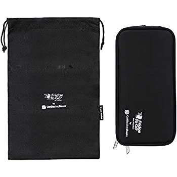 Insulin Cooler Diabetic Medicine Travel Bag STANDARD - Insulated Epipen Carrying Case Keeps Medications Cool - FDA Approved