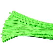 Freedi 95Pcs Pipe Cleaners Chenille Stem Creativity for Classroom Craft DIY Art Supplies 6mm ( Light Green)