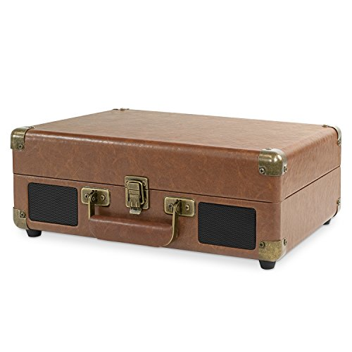 Victrola Bluetooth Suitcase Record Player 3-Speed Turntable by Victrola (Image #1)