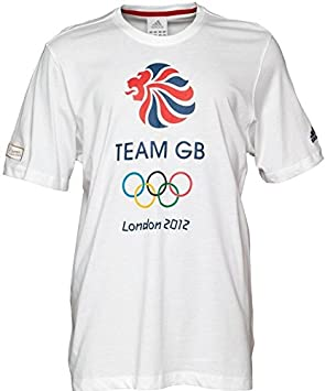 deb4850bd9f1 Image Unavailable. Image not available for. Colour  adidas Team GB T-Shirt  ...