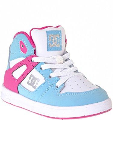 DC Shoes Jungen Rebound UL 320167 Sneaker cyan/magenta
